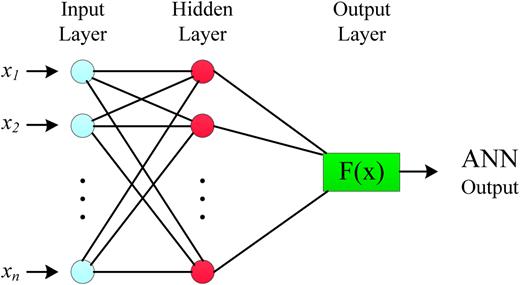 Schematic ANN representation.