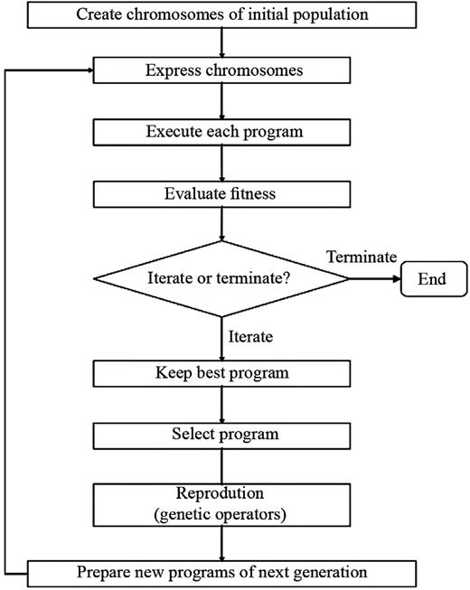 General GP model implementation and general structure (Shiri et al. 2012).
