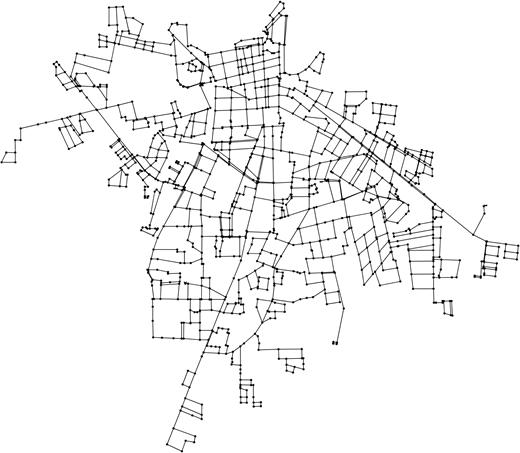 Matamoros network model.