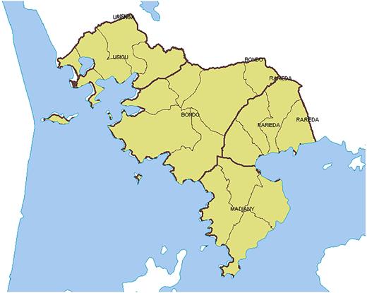 Bondo sub-county (Source: World Agroforestry Centre).