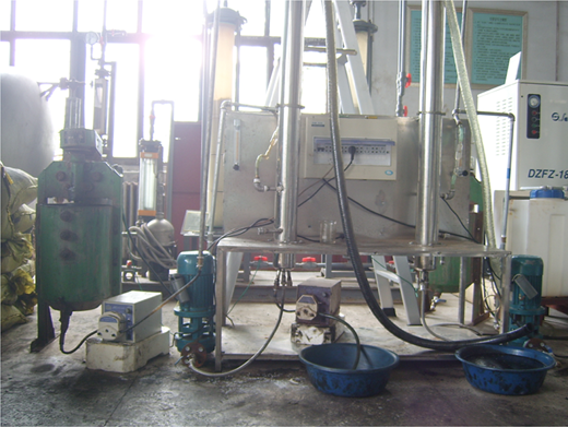 1 m3 d−1 Oil-water separation experimental system.