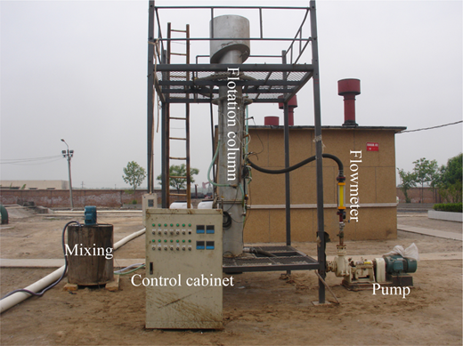 30 m3 d−1 Oil-water separation experimental system.