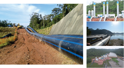 Interconnection of water sources Grande river and Upper Tiete river systems.