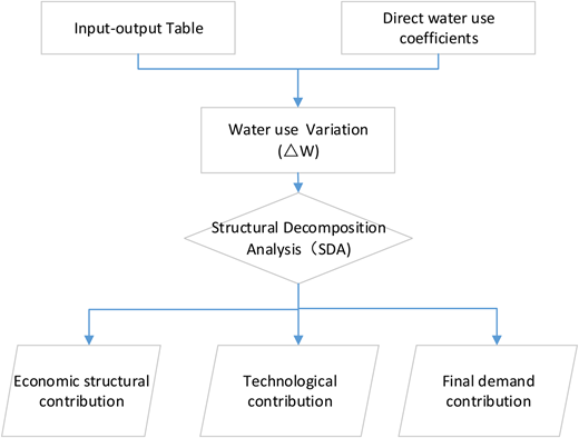 The flow chart of model analysis.