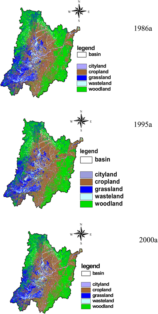 Land use of the Songliao River Basin.