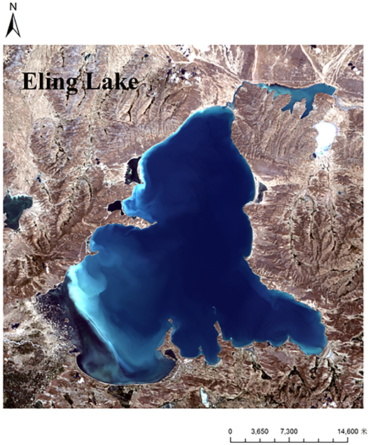Eling Lake district topography and landforms.