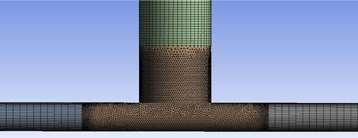 Schematic diagram of mesh construction.