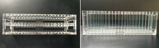 The culturing device of biofilms.